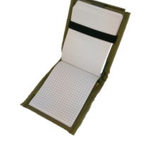 TVTMPCK-Inside the field message notebook holder