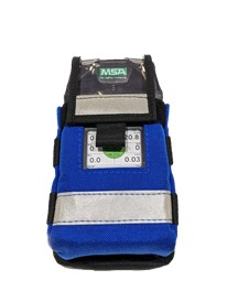 Modular gas detector pouch front view.