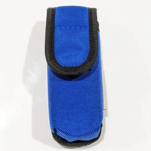 Front view of a small modular utility pouch.
