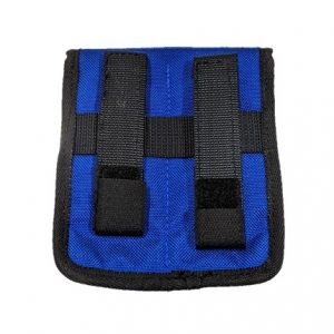 Rear view notebook pouch