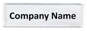 Custom company name patch